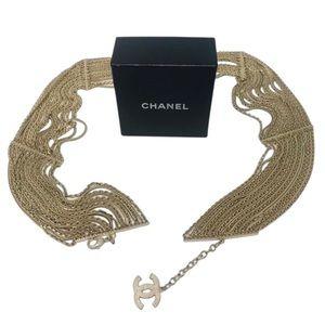 Chanel Vintage Gold Chain Belt or Necklace